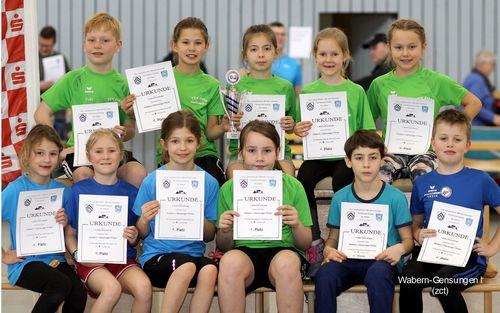 Kinder-Leichtathletik des TSV Wabern