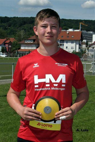 Hessische Jugend-Meisterschaft U 16 in Gelnhausen