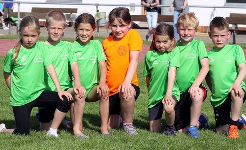 Kinder-Leichtathletik des TSV Jahn Gensungen