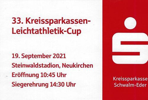 Vorschau 33. Kreissparkassen-Leichtathletik-Cup